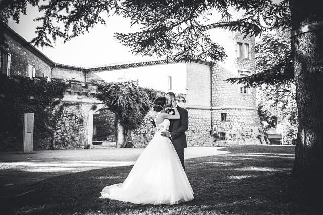 photographe mariage chateau mouans