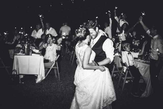 photographe premiere danse mariage opio