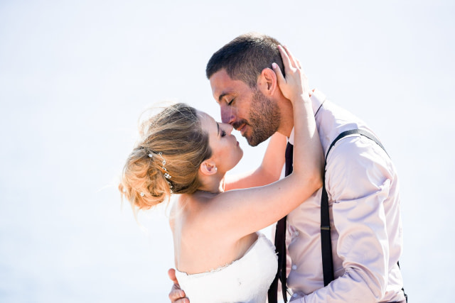 photographe mariage romantique martigues